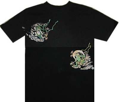 風神雷神Tシャツ
