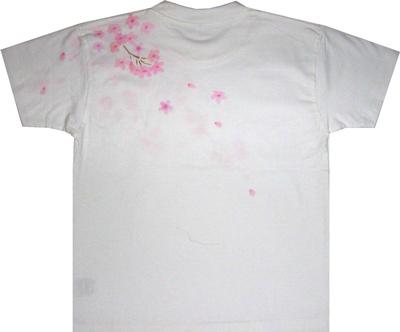 しだれ桜Tシャツ<後ろ>